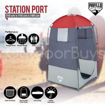 Pavillo Pop Up Camping Change Room Toilet Shower Tent | Outdoor Privacy Shelter