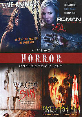 Horror Collectors 4 Movie Set, Vol. 3 (DVD, 2010) Brand New Sealed Reg 1