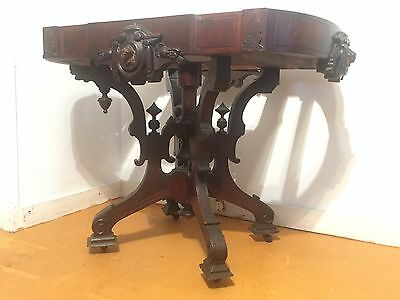 John Jelliff Table Marble Top As Is Condition 19th C. LOCAL LONG iSLAND PICK UP