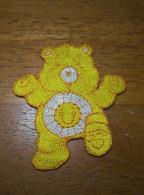 HOT TOPIC Vintage Care Bears Sunshine Bear Patch Iron On RARE