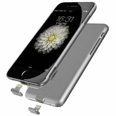 Ultra Thin For iPhone 6 6S Backup Battery Charging Case Power Bank Charger Cover