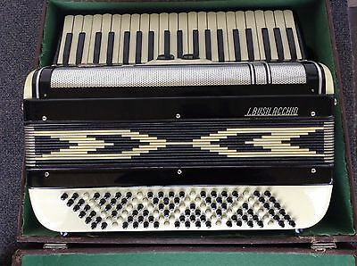 Vintage Accordion I. Busilacchio 120 Bass