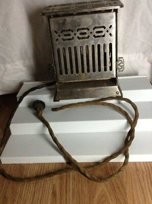 Hotpoint Antique Toaster Edison Electric Appliance WORKS Home Decor Art Deco