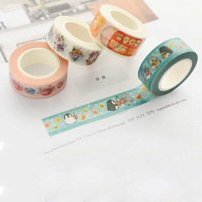 Wald Washi Tape Scarpbooking Aufkleber Decor Papier Masking Adhesive DIY Tape