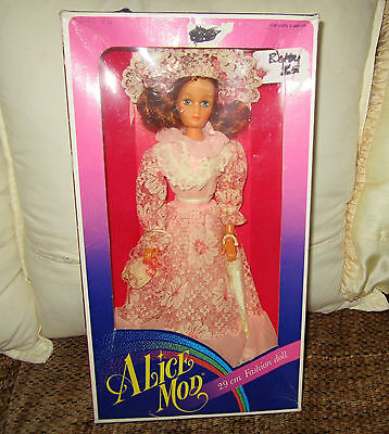 Vintage Barbie Mod Clone Doll 1984 Made In Hong Kong Doll Alice Mod Htf