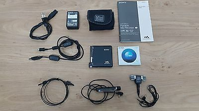 Sony MZ-RH1 Portable Hi-MD Recorder - Minidisc walkman *RARE*