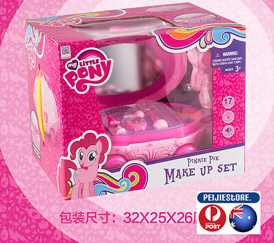 Little Girls Pretend Play Makeup Kit  Play Set Toy with Storage Box(17PCS)