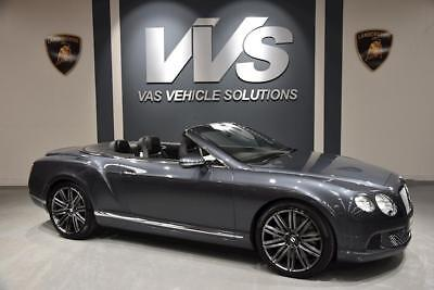 Bentley Continental Gt Speed Convertible 6.0 Automatic Petrol