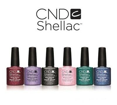 CND Shellac Starstruck Collection. 6 Colours For £32.99