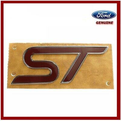 Genuine Ford Focus St Rear Tailgate Badge 1803353 New