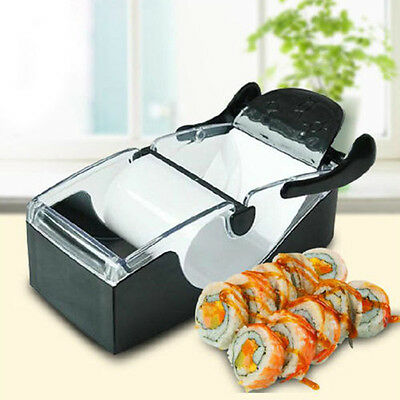 Sushi Maker Cutter Easy Kitchen Magic Perfect Roll Diy Roller Gadget Machine Uk