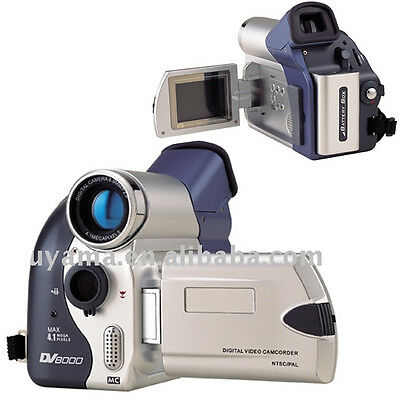 """Digital Camcorder Dv8000 Recorder Colour Lcd Zoom Sd Card Video 2.0"""" Compact New"""