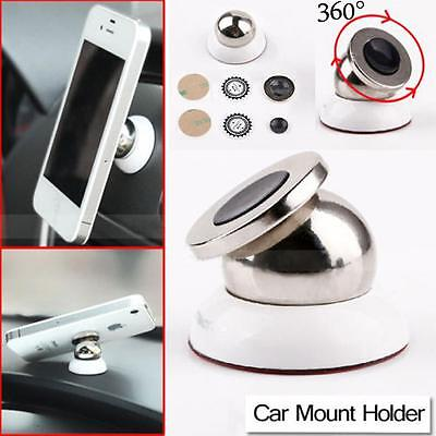 360° Magnetic Support Cell Phone Car Dash Holder Stand Mount for Smartphone