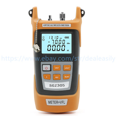 SGZ305 Optic Power Meter -70~+3dBm 5mW Visual Fault Locator Laser Light Source