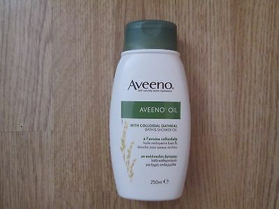 Aveeno bath and shower oil with collodial oatmeal - 250ml - Brand New