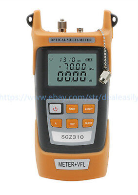 All-IN-ONE Fiber Optic Power Meter -70 +3dBm and 10mw 10km Visual Fault Locator