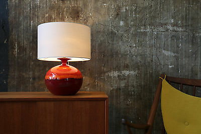 70er HUTSCHENREUTHER TISCHLAMPE VINTAGE 70s TABLE LAMP NEW LAMP SHADE