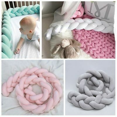 Chinese Knotted Crib Bumpers Knot Cushion Pillow Kids Baby Room Nursery Decor