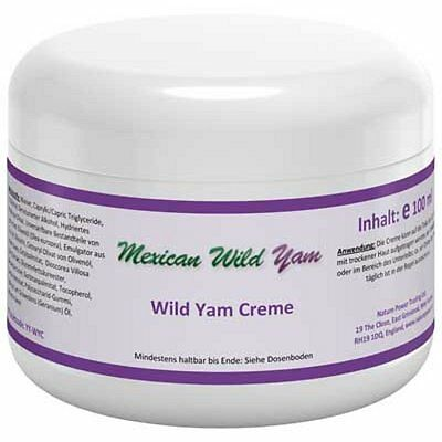 Mexican Wild Yam Creme 100g