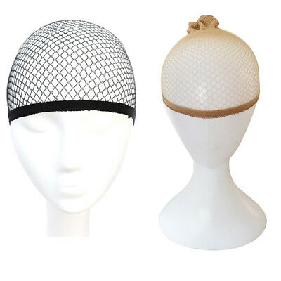 3pcs Mesh Wig Cap Stocking Hair Net Wrap Breathable Stretch Hair Under A Wig Nud