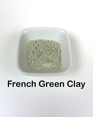 French Green Clay (Superfine) - Cosmetic Masks, Soap Colourant