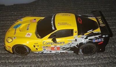 Scalextric 1:32 Scale 2011 Corvette C6R With Digital Chip Fitted