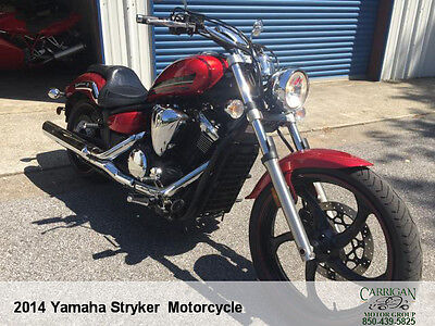 "2014 Yamaha XVS1300  2014 YAMAHA ""XVS13CR"" STRYKER . 7K MILES.. EXCELLENT CONDITION"