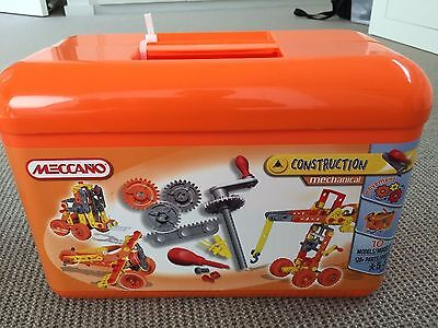 Meccano  mechanical construction - complete box set