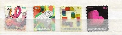 Luxembourg 2013 Definitive Used Set.