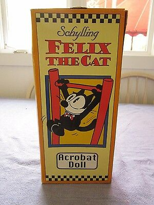 Schylling acrobat Felix the Cat NIB