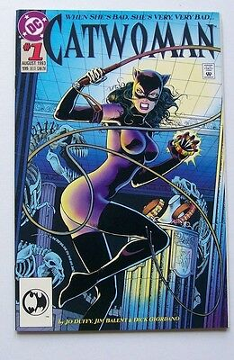Catwoman #1  - When She's Bad She's Very, Very Bad - Dc Comics 1993