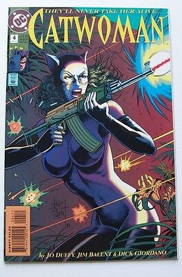 Catwoman #4  - They'll Never Take Her Alive - Dc Comics 1993