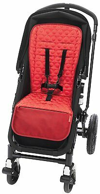 Premium Classic Memory Foam Stroller Seat Liner with Non-Slip Backing and Fabric