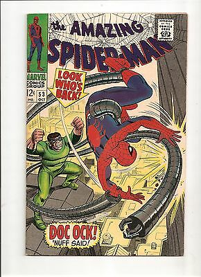 The Amazing Spider-Man #53 (Oct 1967, Marvel) F+