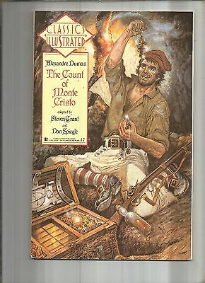 Classics Illustrated #7  The Count Of Monte Cristo  First Publishing 1990 Nice!!