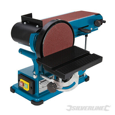 Silverline 350W Bench Belt & Disc Sander 390mm Sander Sanding 3 Year Warranty