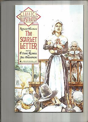 Classics Illustrated #6  The Scarlet Letter  First Publishing 1990 Nice!!