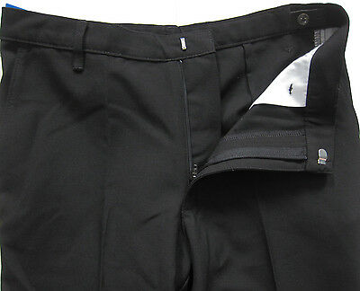 New Marks & Spencer Boys Black Classic Leg School Trousers Age 12-13 Years x 1