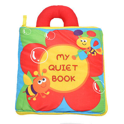 My Quiet Book baby Puzzle soft cloth Book Early childhood education book