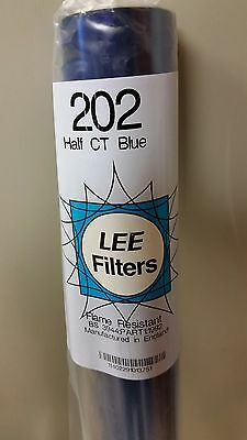 Lee 202 Half Blue 1/2 CTB Gel Filter Roll 4'x25'  FREE GROUND SHIPPING