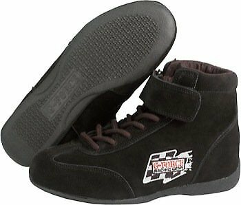 G-Force 0235110Bk Racegrip Black Size 110 Mid-Top Racing Shoes