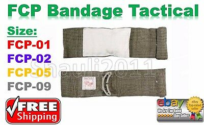 FCP First Care Military Tactical Trauma Dressing Israeli Bandage from IDF - NEW!