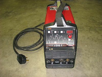 LINCOLN INVERTEC V205-T AC/DC Welding power unit, Used, Tested Works