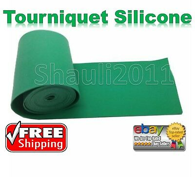 IDF Medical First Aid Combat Tourniquet Silicone Band 6.5ft IFAK Israeli Army