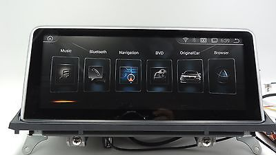 """""""YOKOTRON"""" """"10.25 """" Android 4.4 Car Player for BMW X5 X6 (CCC)2007-2010+GPS"""