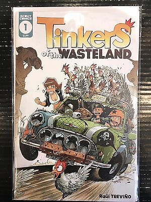 Tinkers of the Wasteland #1 NM- 1st Print Free UK P&P Scout Comics