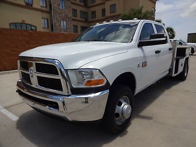 2011 Ram 3500 ST 2011 Ram 3500 ST Crew Cab Flatbed 6.7L Cummins Turbo Diesel Engine