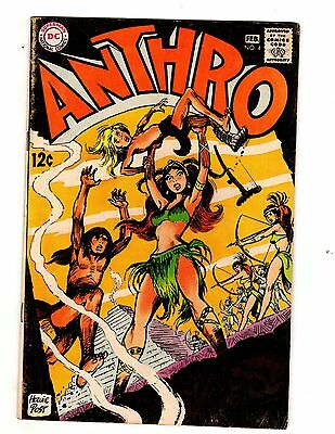Anthro #4 (DC, 1969)