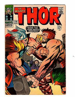The Mighty Thor #126 (Marvel, 1966) STK2