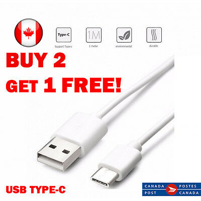 Premium USB Type C 3.1 Data Sync Charger Cable for Samsung Galaxy S8  LG G5 G6